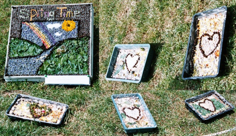 Etwall 2005 - Additional Well Dressing at Primary School