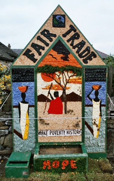 Hope 2005 - Edale Road Well Dressing