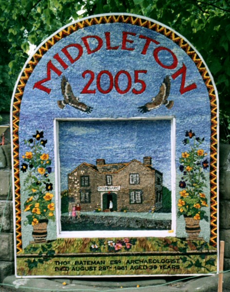 Middleton by Youlgrave 2005 - Village Well Dressing