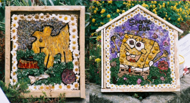 Pilsley (near Bakewell) 2005 - Children's Well Dressings