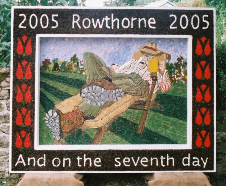 Rowthorne 2005 - Village Well Dressing