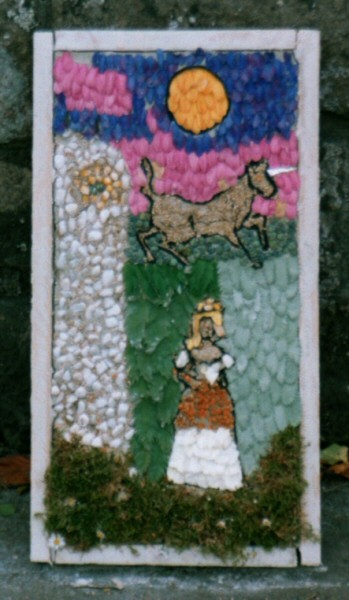 Tansley 2005 - Church Street Well Dressing (2)