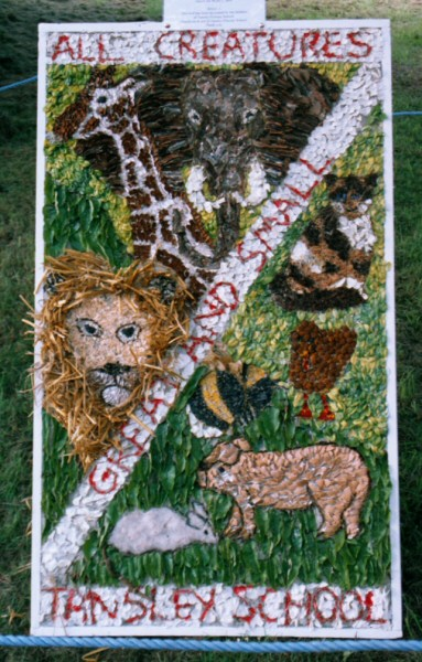 Tansley 2005 - Holy Trinity Church Well Dressing