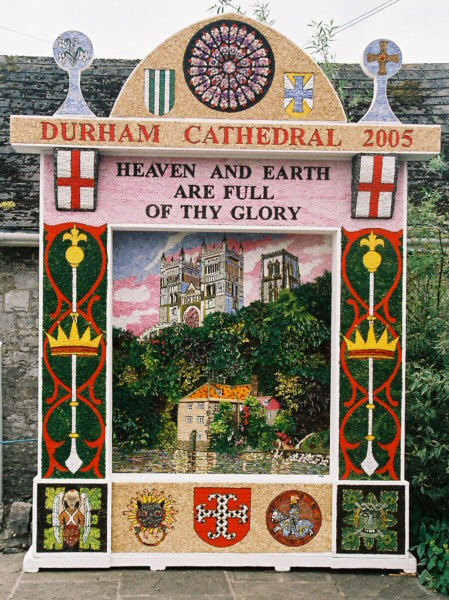 Tideswell 2005 - Village Well Dressing