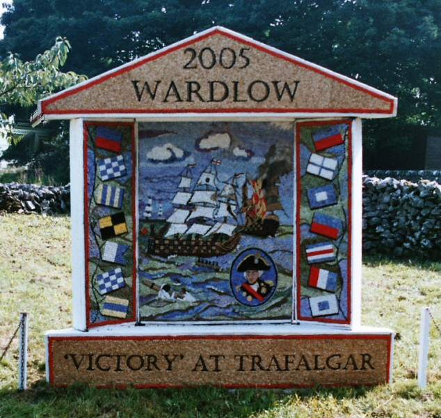 Wardlow 2005 - Village Well Dressing