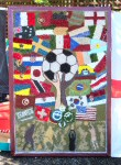 St Martin's Special School Well Dressing