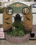 Lion Head Fountain Well Dressing