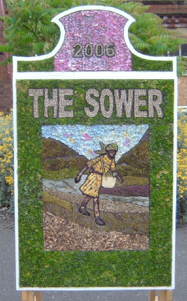 Clowne 2006 - Old School Well Dressing