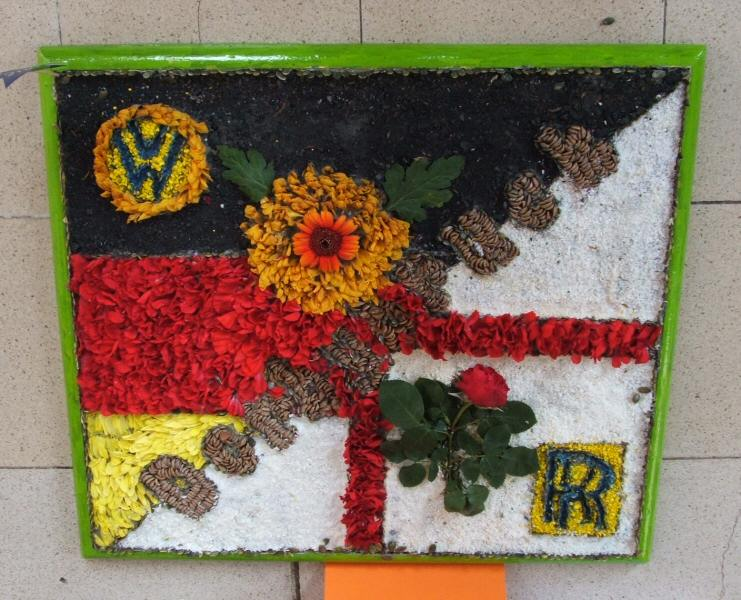 Derby 2006 - Silverhill Primary School Years 5 & 6 Well Dressing (3)