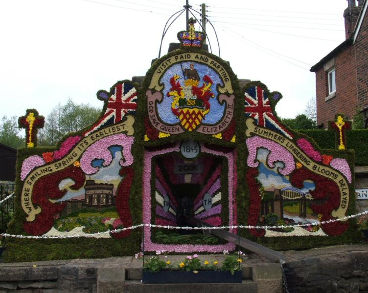 Endon 2006 - Village Fountain Well Dressing