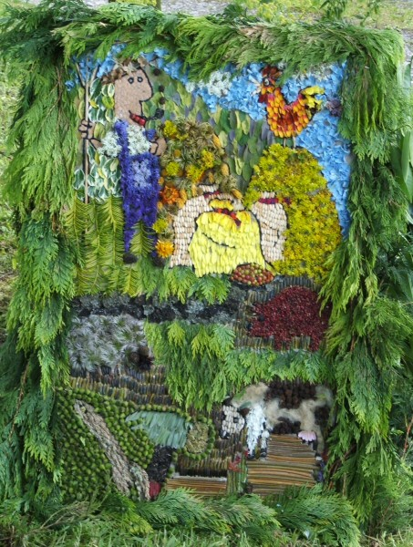 Grindon 2006 - All Saints Church Well Dressing