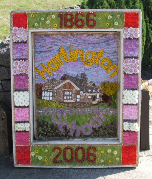 Hartington 2006 - School Well Dressing