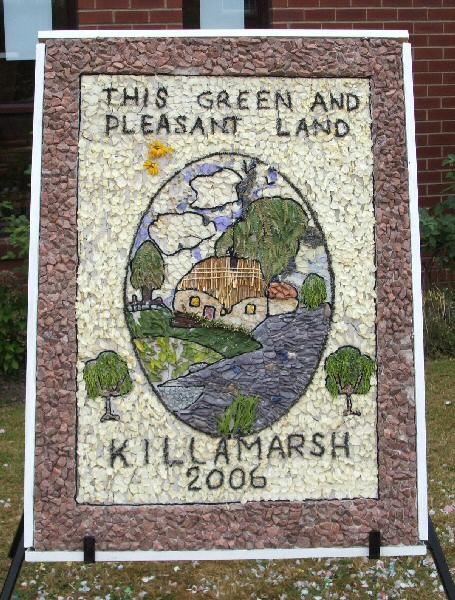 Killamarsh 2006 - Methodist Church Well Dressing