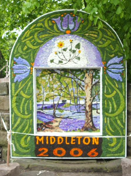 Middleton by Youlgrave 2006 - Village Well Dressing