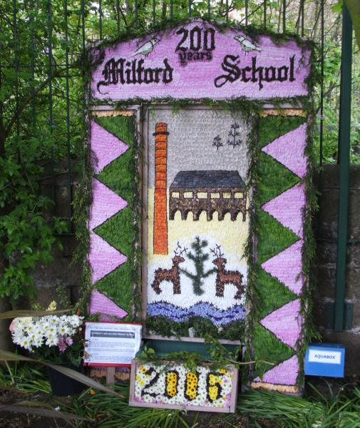 Milford 2006 - The Community and Milford Primary School Well Dressing