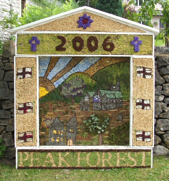 Peak Forest 2006 - Old Dam Well Dressing