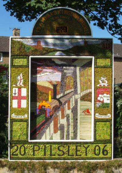 Pilsley (near Bakewell) 2006 - Main Well Dressing