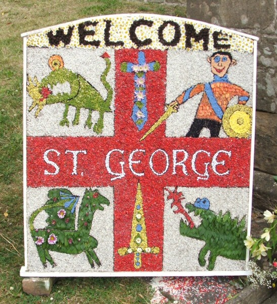 Pleasley 2006 - Brownies' Well Dressing