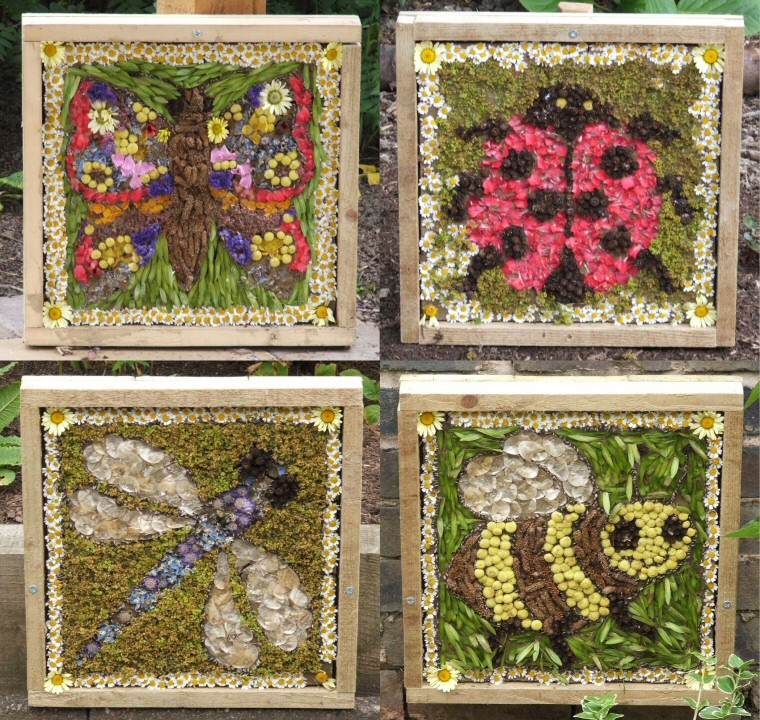 Spire Infant School (Chesterfield) 2006 - Composite Image of Summer Well Dressings