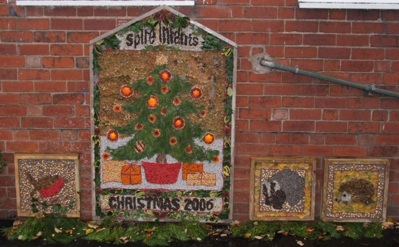 Spire Infant School (Chesterfield) 2006 - Winter Well Dressings