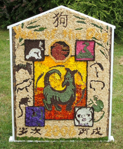 Sutton Lane Ends 2006 - Children's Well Dressing