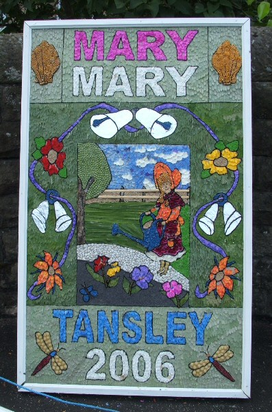 Tansley 2006 - Church Street Well Dressing (1)