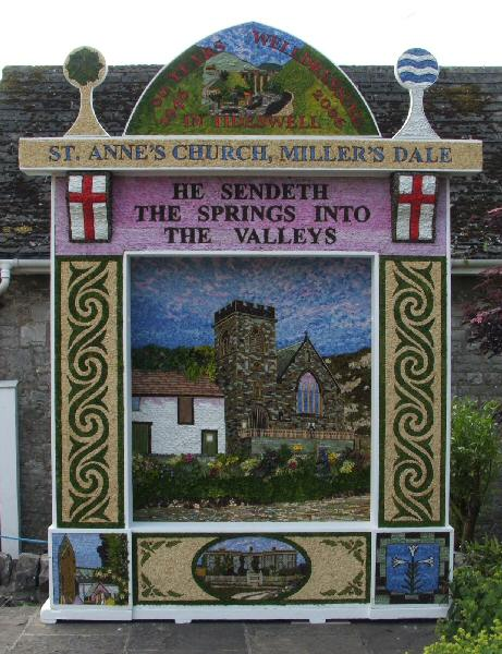 Tideswell 2006 - Village Well Dressing