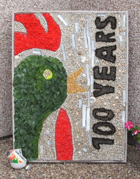 West Hallam 2006 - Minors Members & Leaders Well Dressing