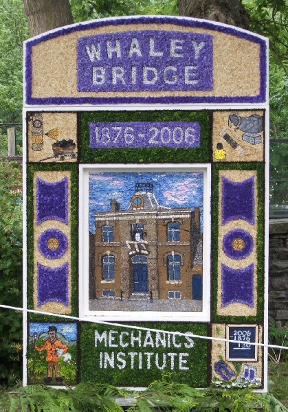 Whaley Bridge 2006 - Canal Basin Well Dressing