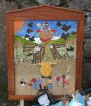 Rainbows, Guides and The Flockshop Well Dressing