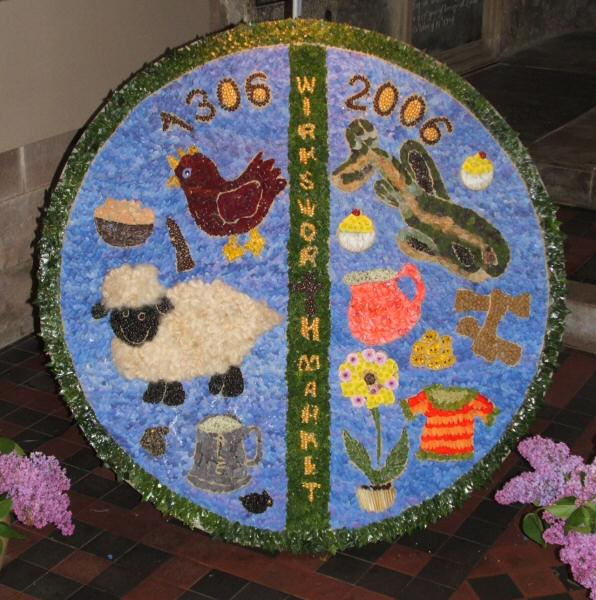 "Wirksworth 2006 - ""The Group"" Well Dressing"