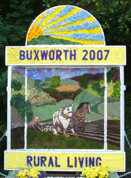 Buxworth 2007 - Canal Basin Well Dressing