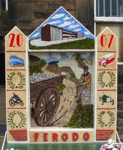 Chapel-en-le-Frith 2007 - Town Well Dressing