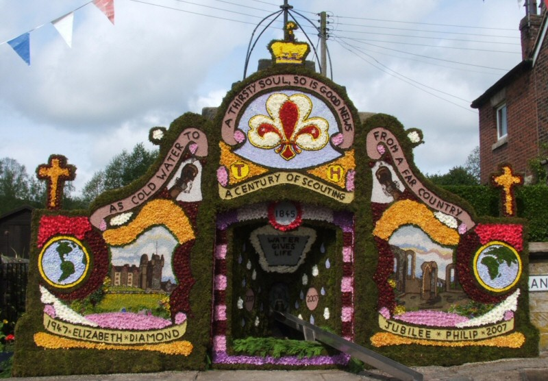 Endon 2007 - Village Fountain Well Dressing