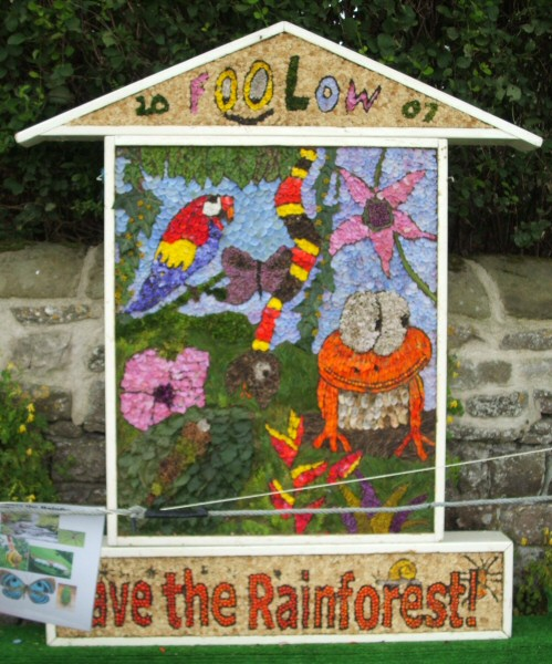 Foolow 2007 - Children's Well Dressing