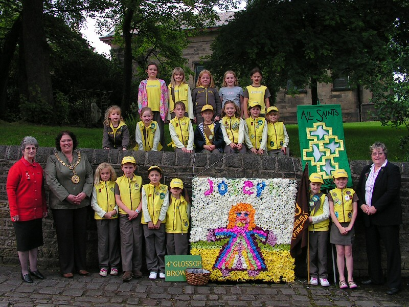 Glossop 2007 - All Saints RC Church - Brownies Well Dressing