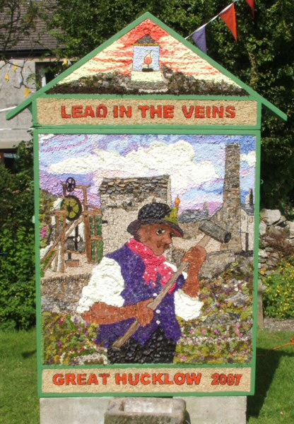 Great Hucklow 2007 - Village Well Dressing