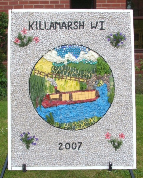 Killamarsh 2007 - Methodist Church Well Dressing