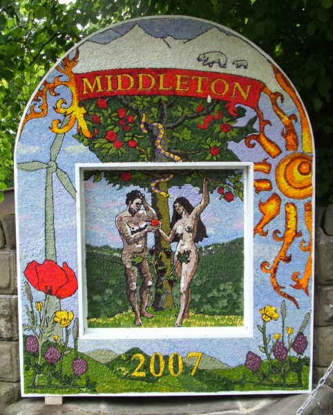 Middleton by Youlgrave 2007 - Village Well Dressing