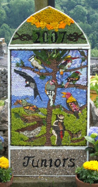 Over Haddon 2007 - Junior Well Dressing
