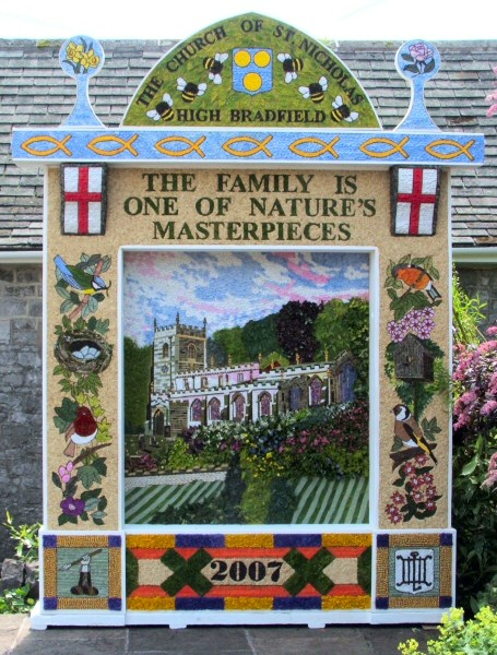 Tideswell 2007 - Village Well Dressing