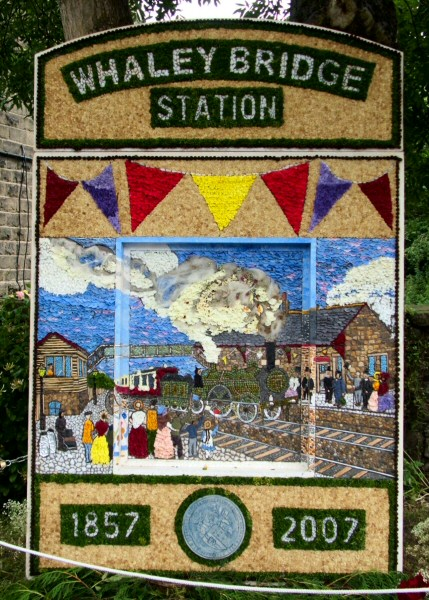 Whaley Bridge 2007 - Canal Basin Well Dressing