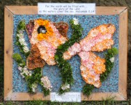 Whaley Bridge 2007 - Additional Well Dressing at Canal Basin (Good News)