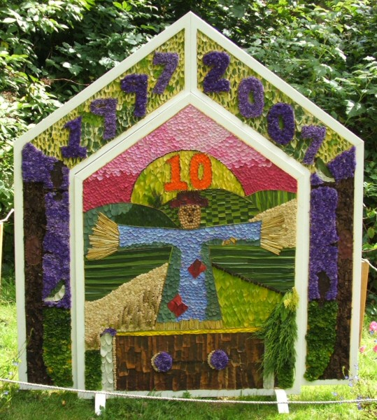Wormhill 2007 - Children's Well Dressing