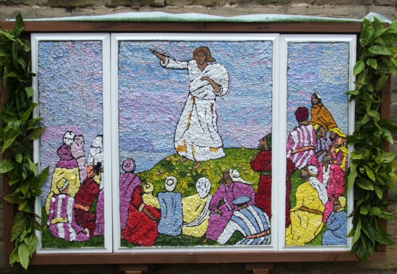 Aldercar 2008 - St John's Church Well Dressing