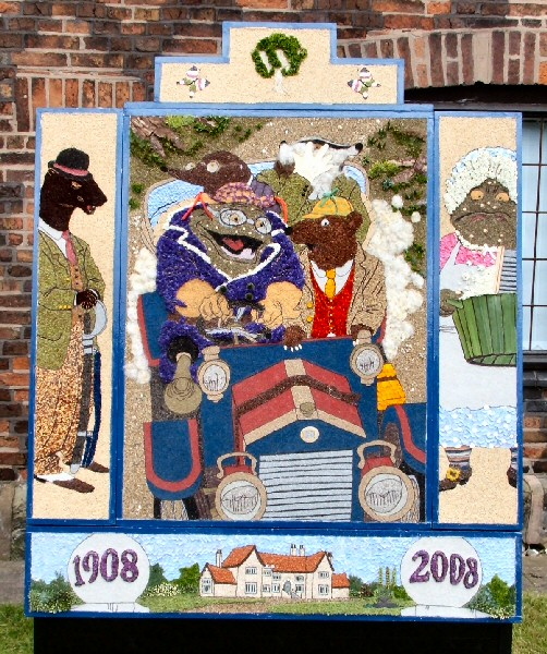 Aston-upon-Trent 2008 - Womens' Institute Well Dressing
