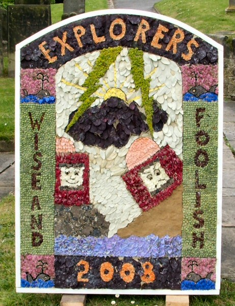 Bakewell 2008 - Explorers' Well Dressing