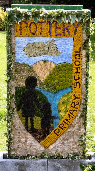 Belper 2008 - Pottery Primary School Well Dressing (1)
