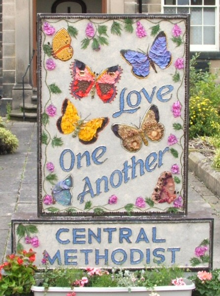 Belper 2008 - Central Methodist Church Well Dressing