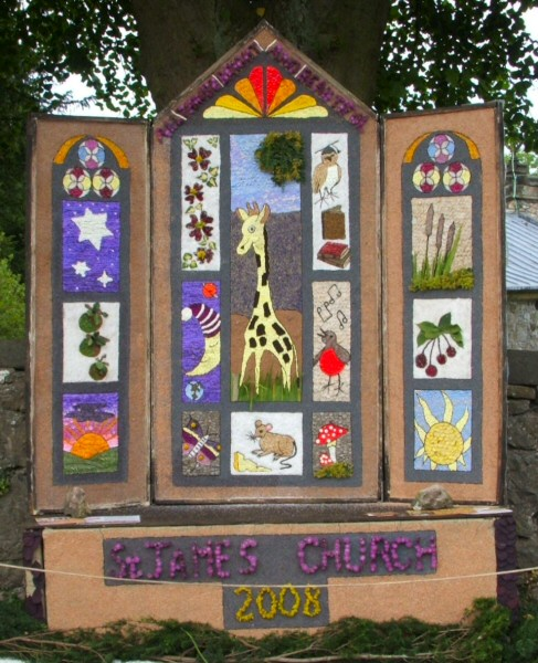 Bonsall 2008 - St James' Church Well Dressing